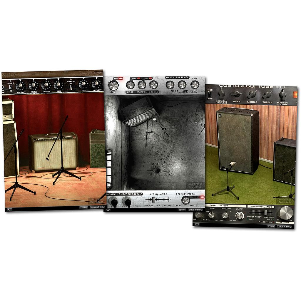 Amp Room Bundle (upg from Metal and Vintage) DL版